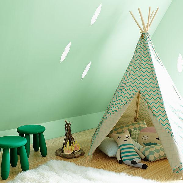 Farbenfroh ab 3 Jahren – Wandfarben für Kinderzimmer von Kleinkindern