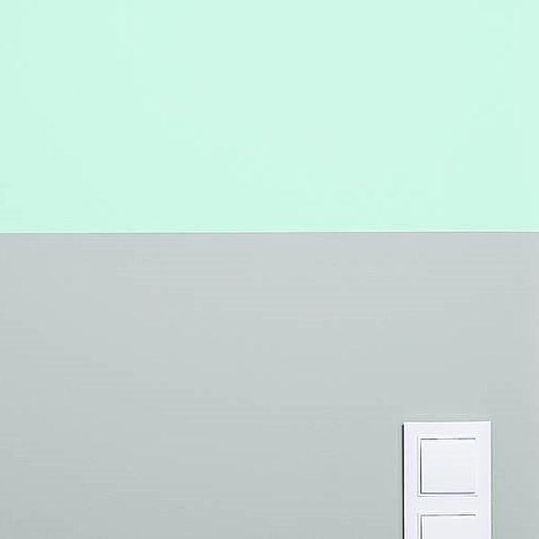 Як створити двокольорову стіну?