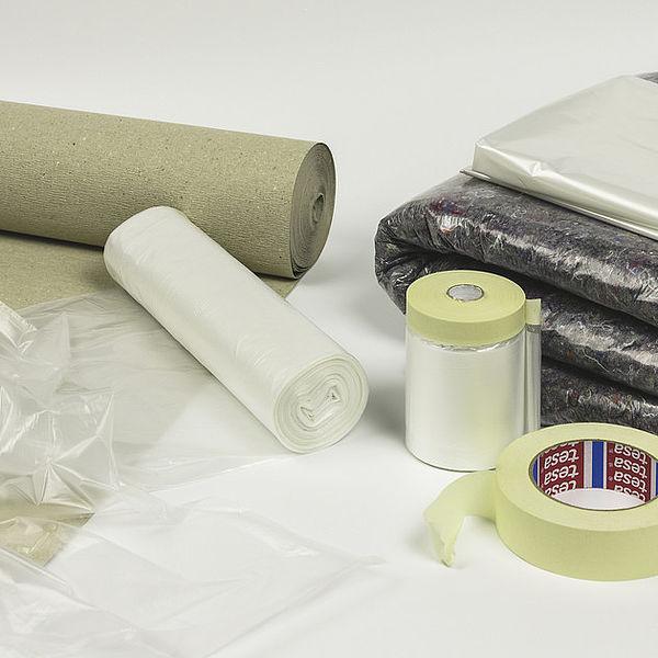 Материалы для защиты поверхностей при выполнении внутренних покрасочных работ