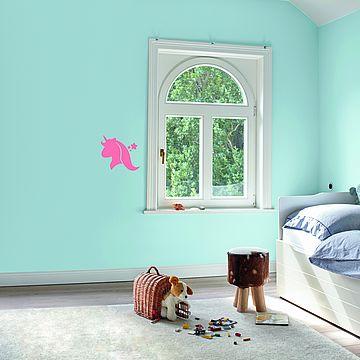 Upgrade für das Kinderzimmer: Wandschablonen, Farbtipps, Wandmalerei
