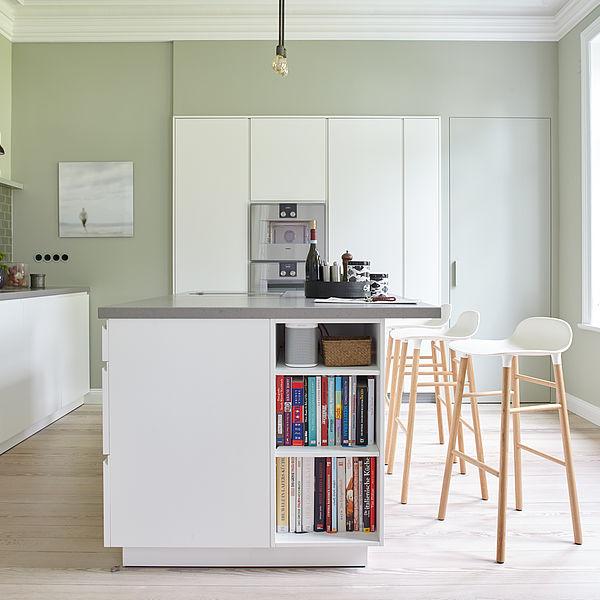 Passende Wandfarben für die Küche