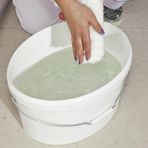 Очищення інструментів після фарбування