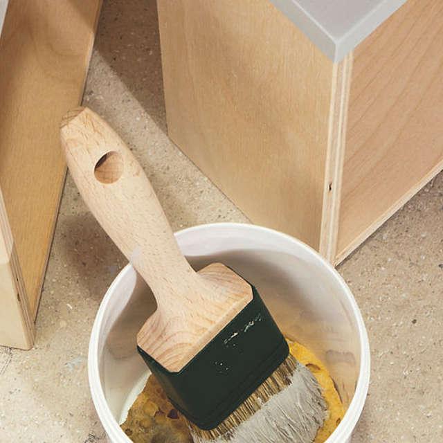 Чистка инструментов после нанесения эмали - Краски Alpina