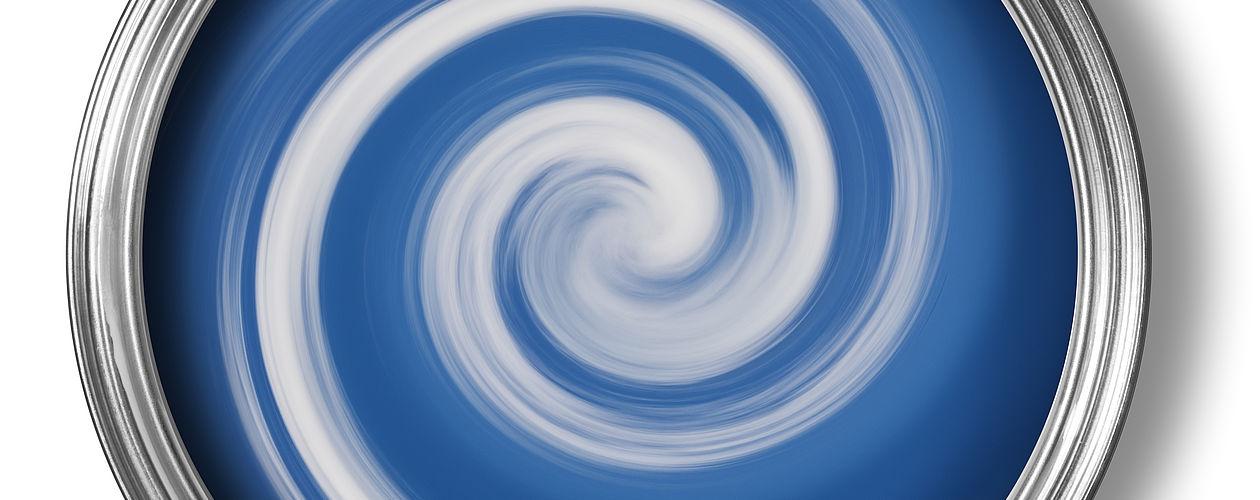 Acryllacke können problemlos mit einander gemischt werden um den gewünschten Ton zu erhalten.