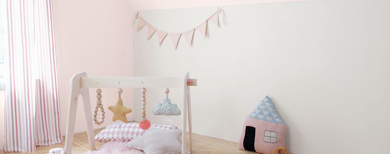 Babyzimmer Gestalten Wandfarben Fur Madchen