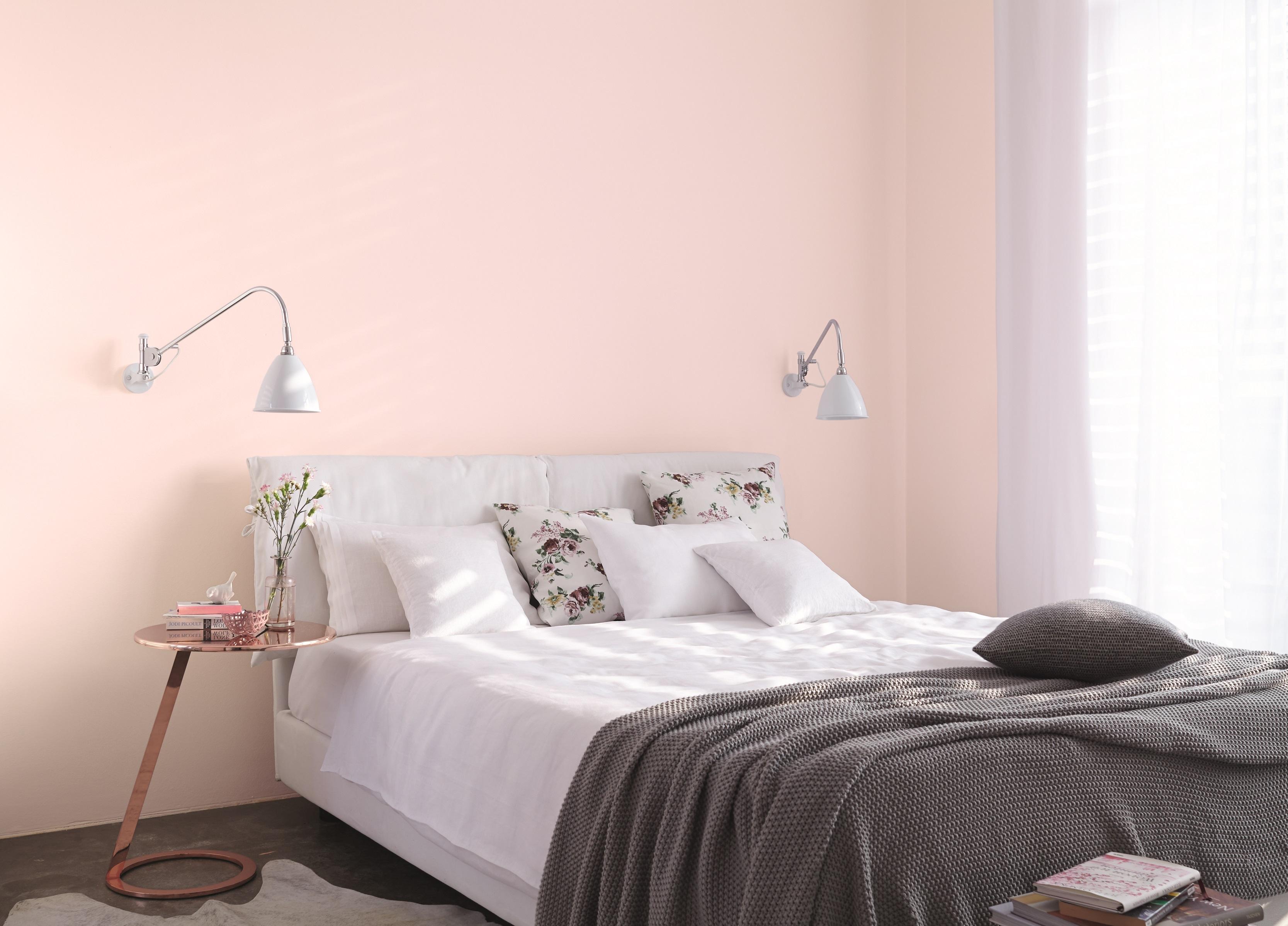 Ideen für die Gestaltung vom Schlafzimmer: Alpina Farbe ...